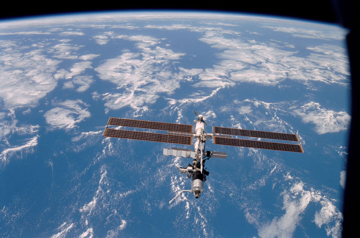 The International Space Station (ISS). Image courtesy NASA.
